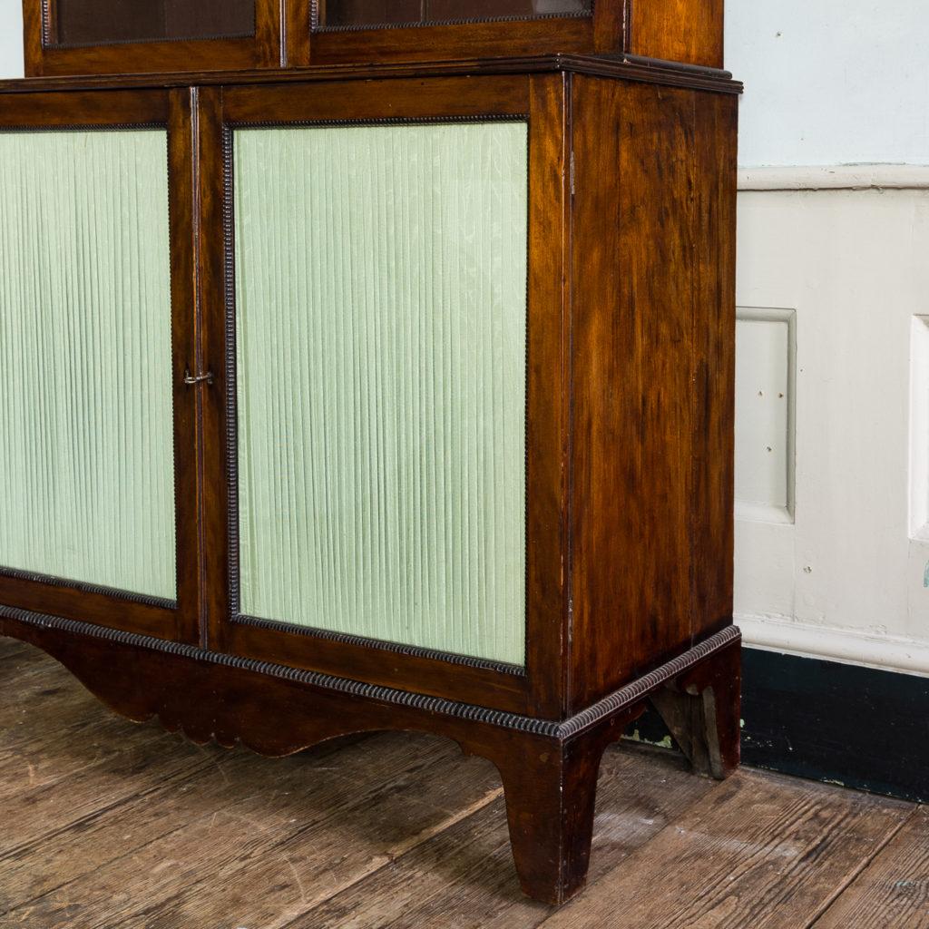 Regency mahogany bookcase,-134118