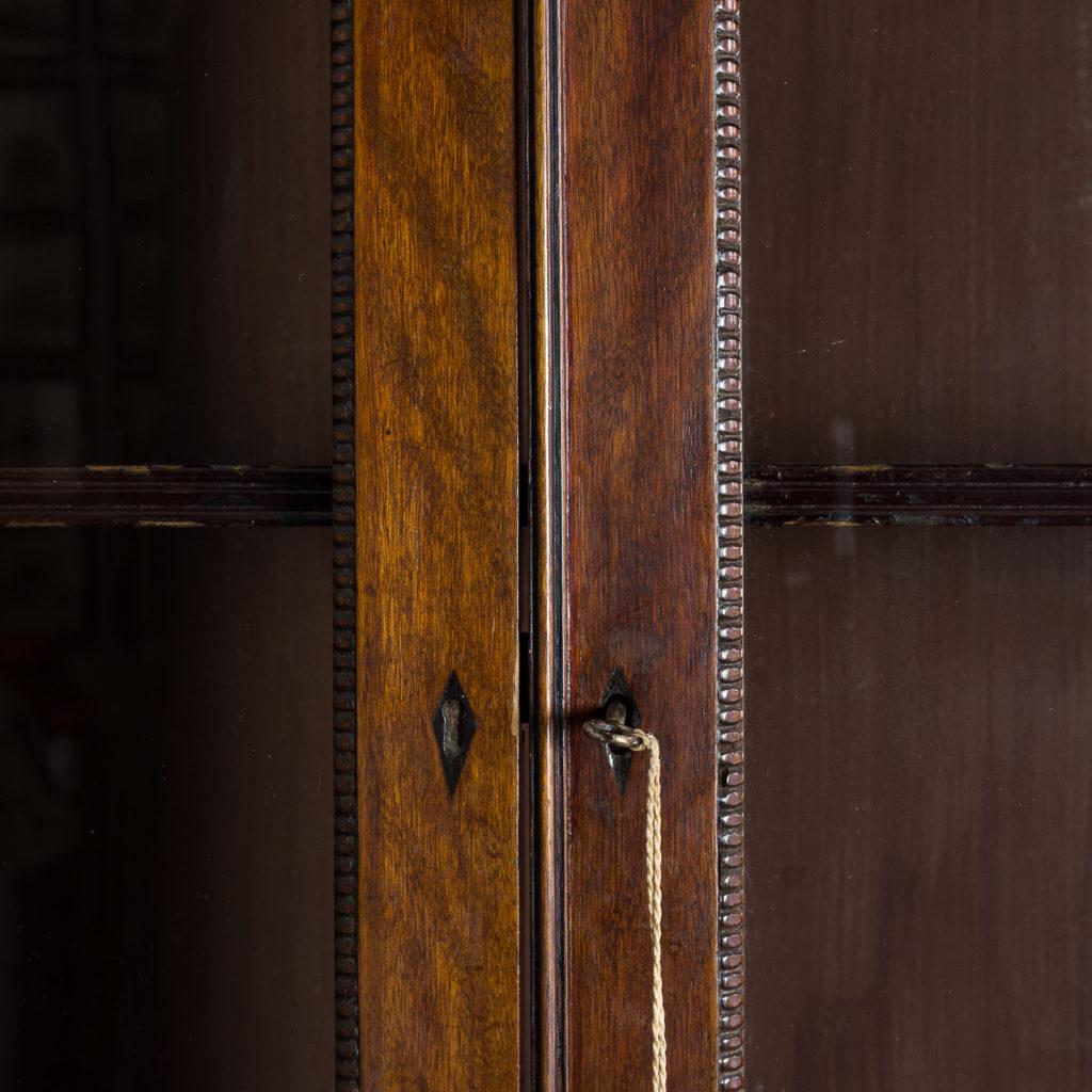 Regency mahogany bookcase,-134116