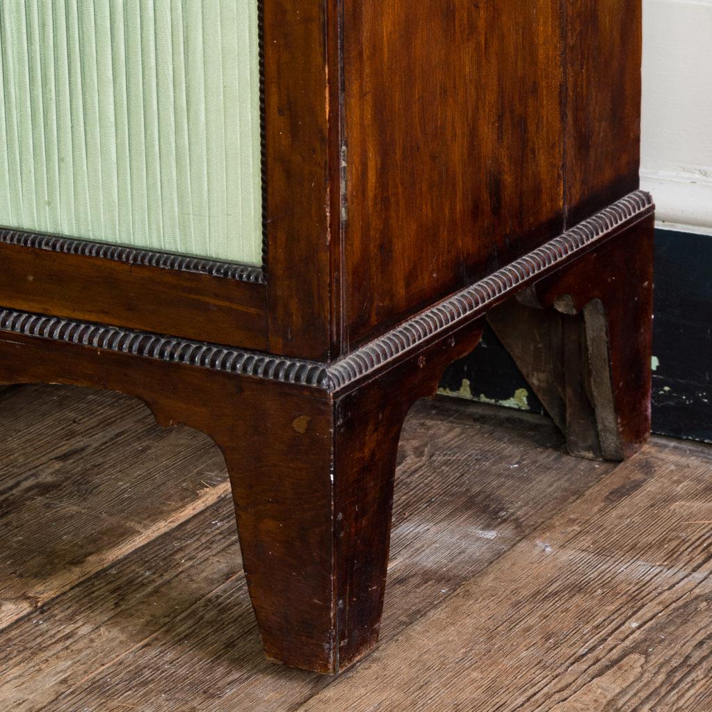 Regency mahogany bookcase,-134119