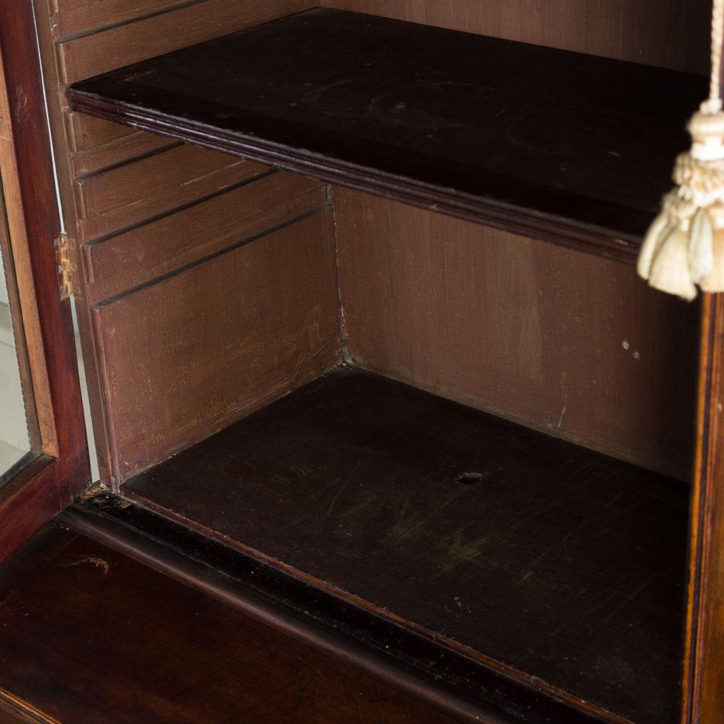 Regency mahogany bookcase,-134117