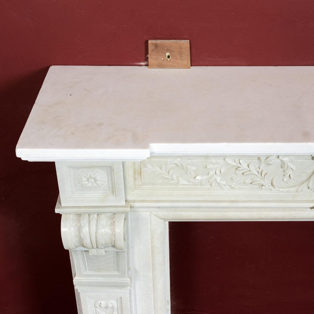 Late nineteenth century Louis XVI style fireplace,-133523