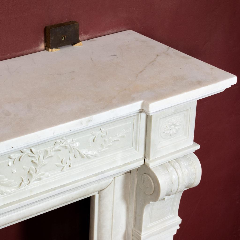 Late nineteenth century Louis XVI style fireplace,-133524