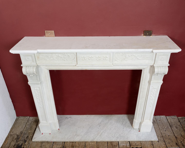 Late nineteenth century Louis XVI style fireplace,-133525