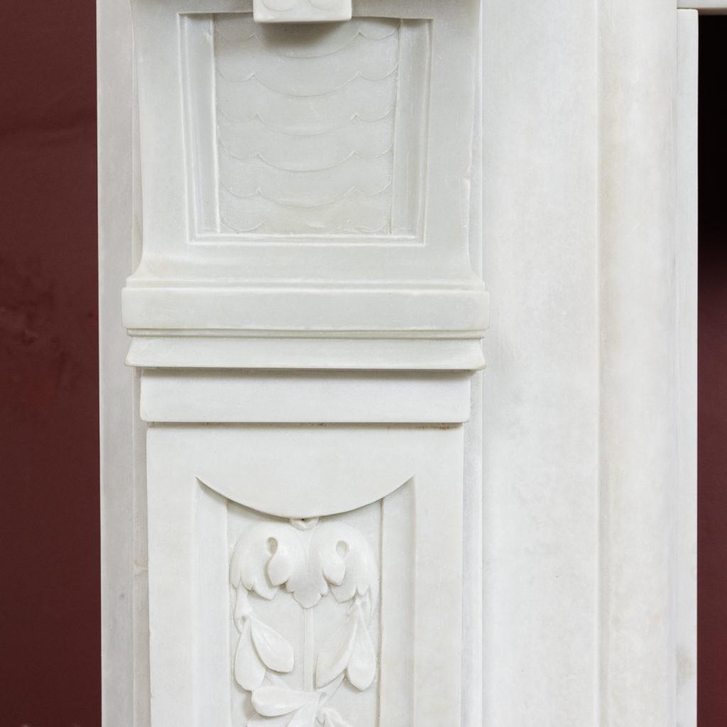 Late nineteenth century Louis XVI style fireplace,-133517