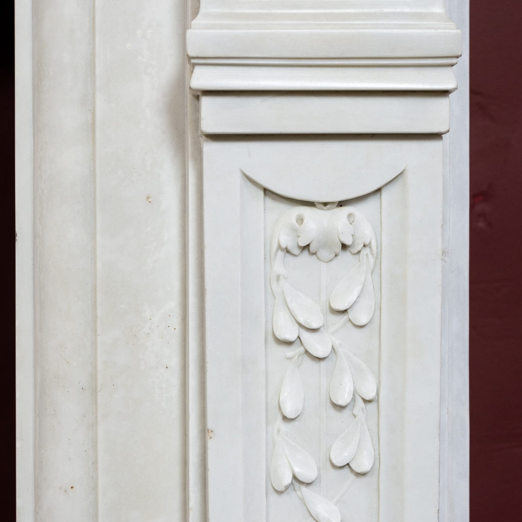 Late nineteenth century Louis XVI style fireplace,-133519