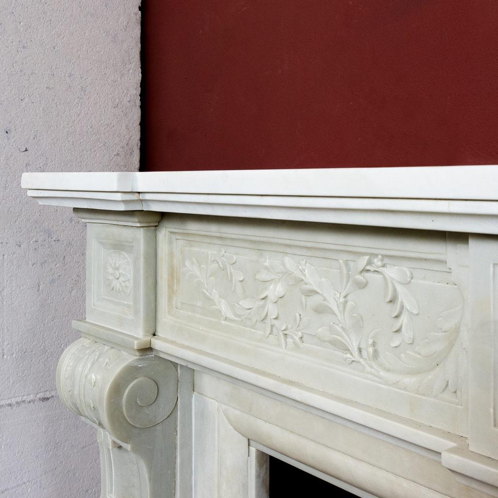 Late nineteenth century Louis XVI style fireplace,-133521
