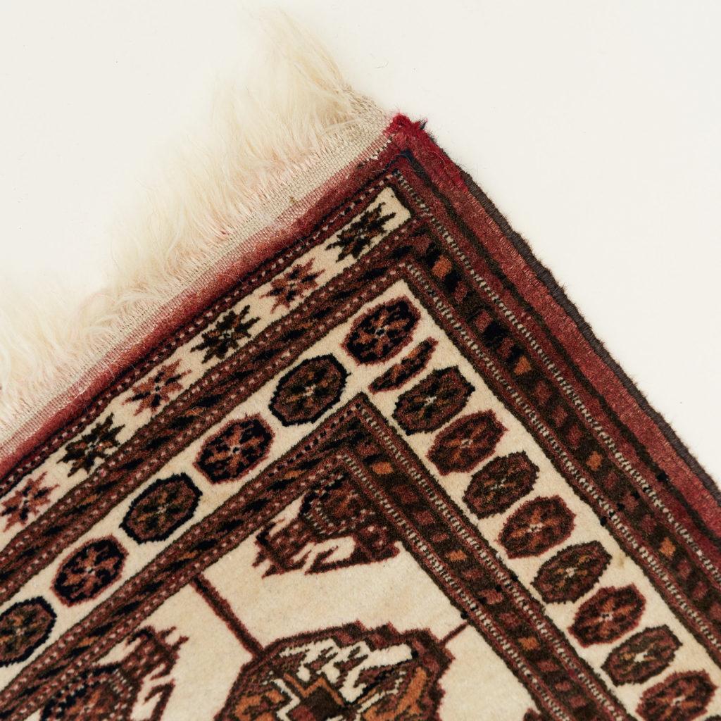 Afghan Bokhara carpet,-133905