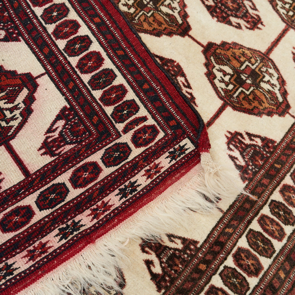 Afghan Bokhara carpet,-133910