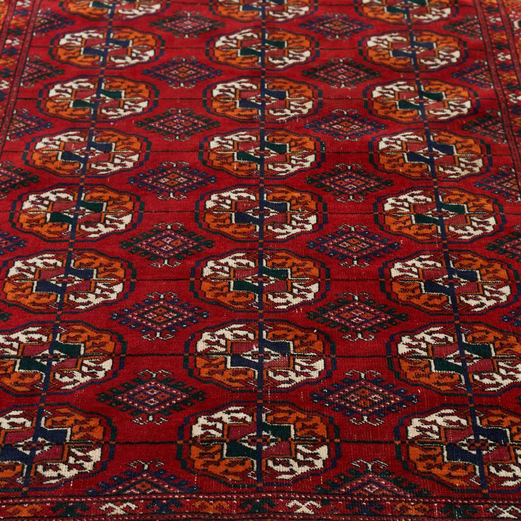 Afghan Bokhara carpet,-133913