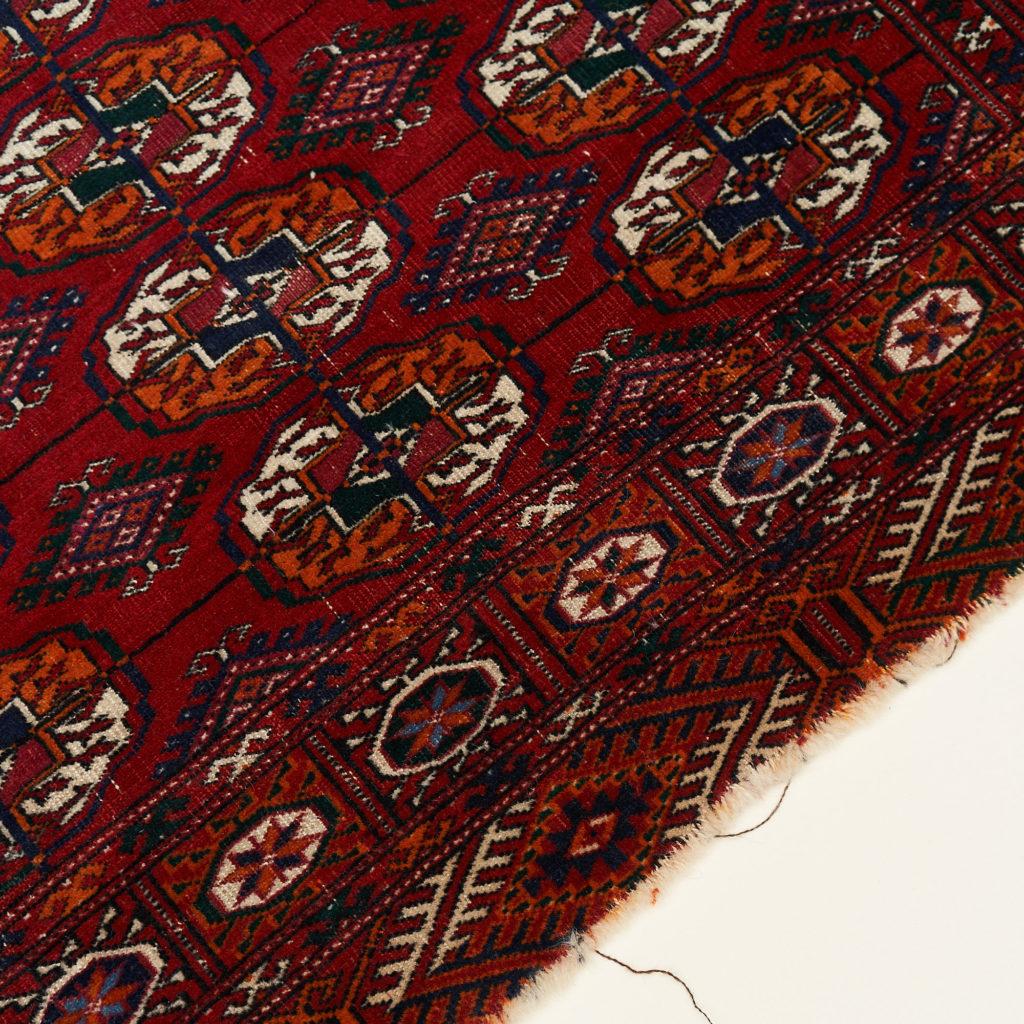 Afghan Bokhara carpet,-133912