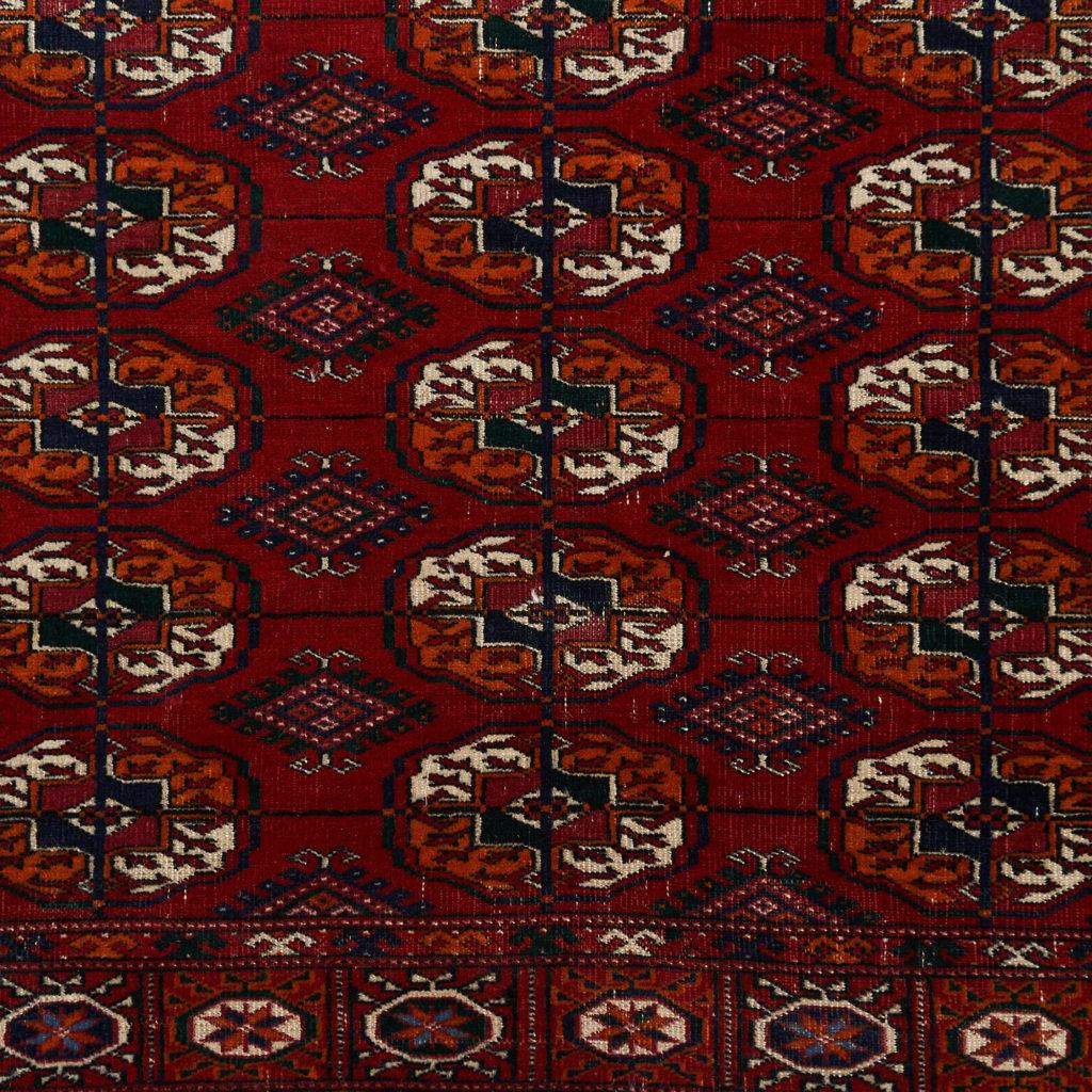 Afghan Bokhara carpet,-133915