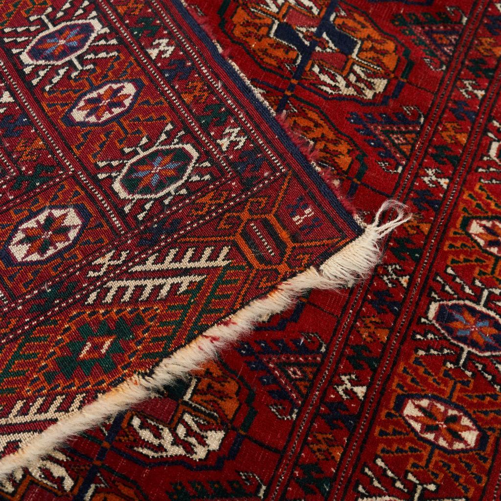 Afghan Bokhara carpet,-133916