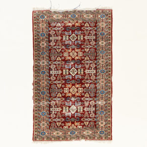 Caucasian Kazak prayer carpet,-0