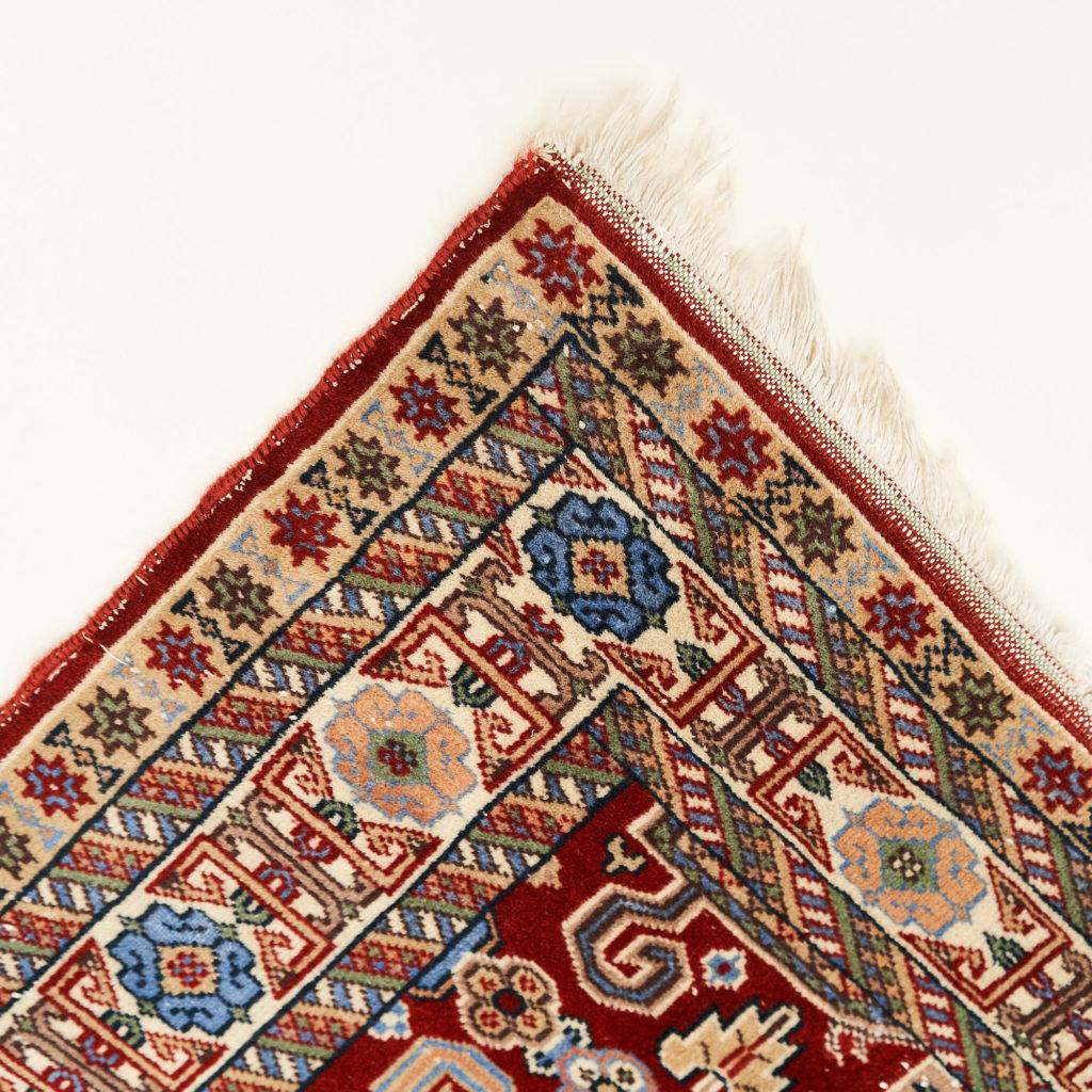 Caucasian Kazak prayer carpet,-133936