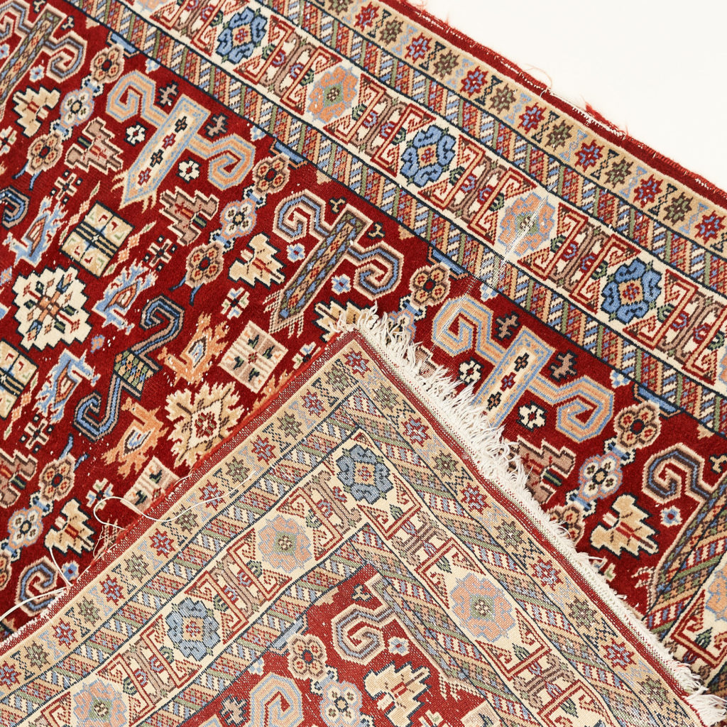 Caucasian Kazak prayer carpet,-133943