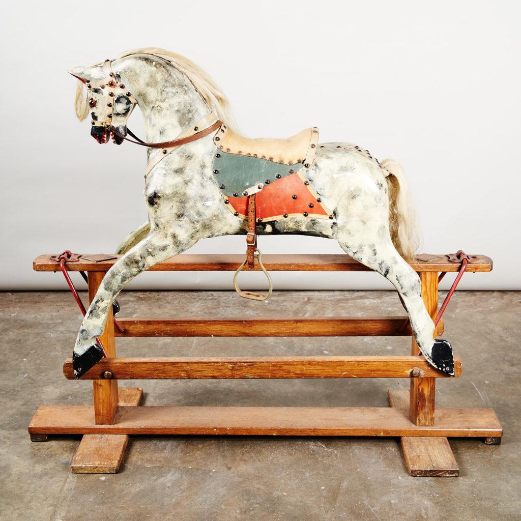 Early twentieth century rocking horse,-0