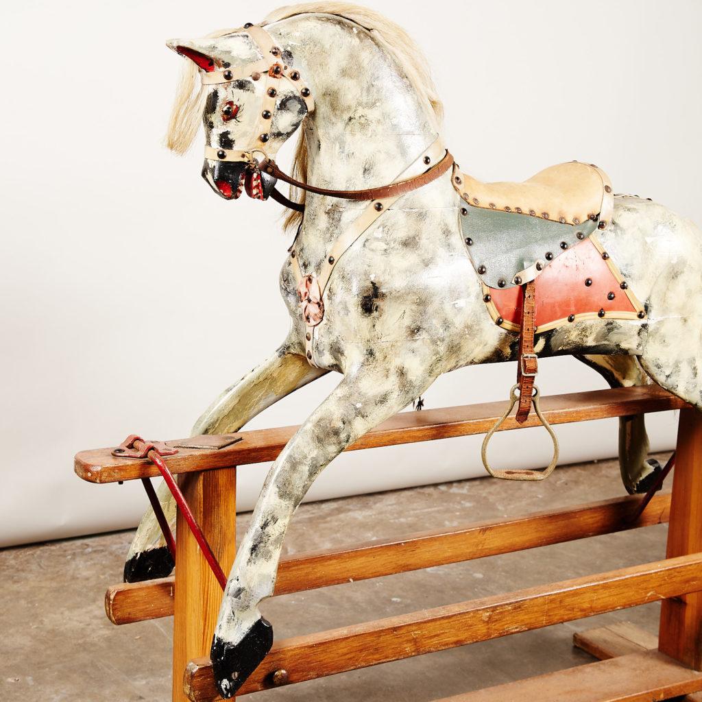 Early twentieth century rocking horse,-135064