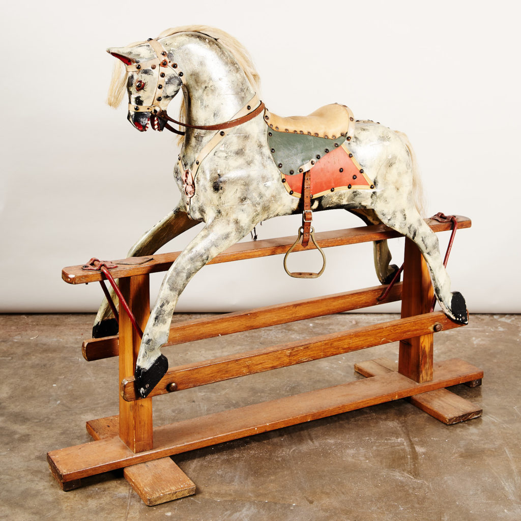 Early twentieth century rocking horse,-135067