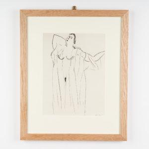 Henri Matisse lithograph,-0
