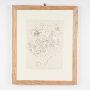 Matisse lithograph,-0