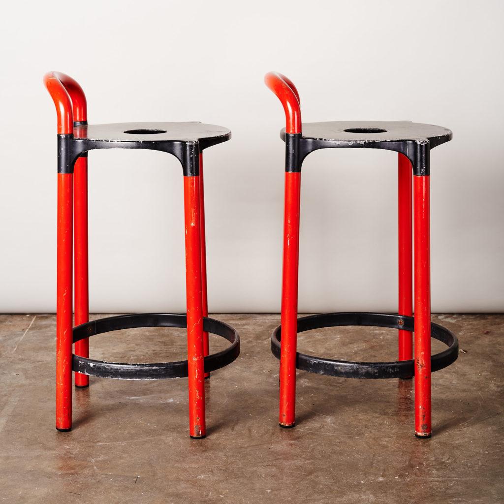 A pair of 'Kartell' bar stools,-134831