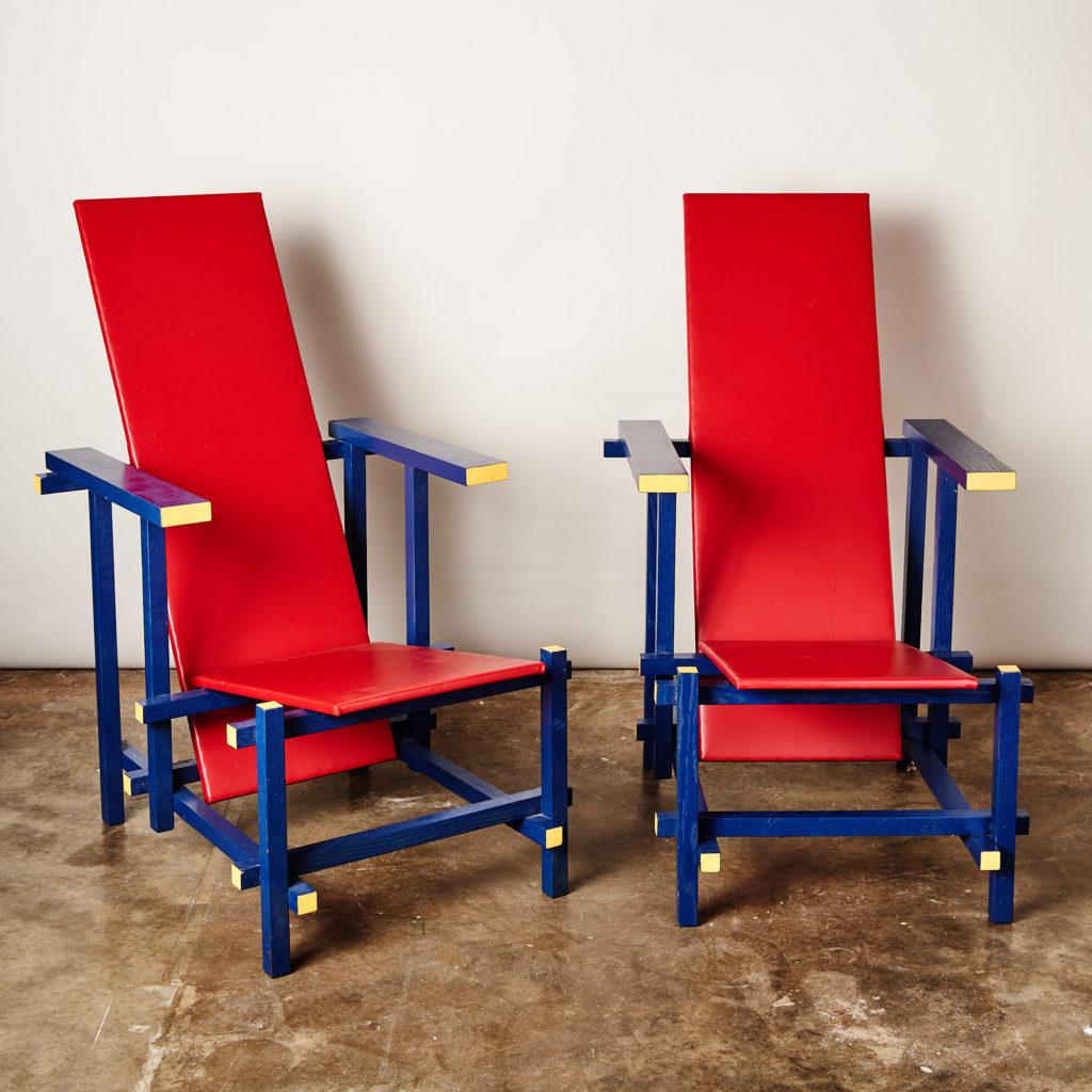 Rietveld style armchair,-134844