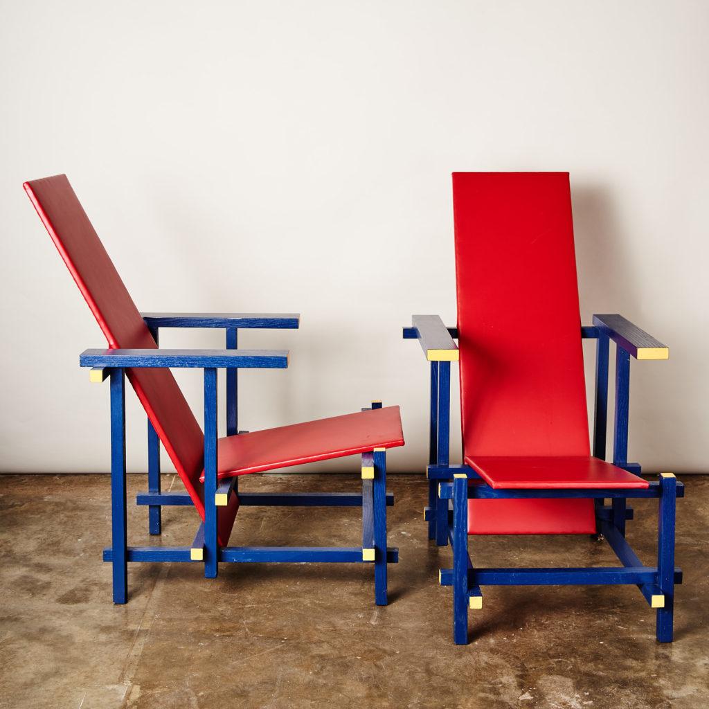 Rietveld style armchair,-134843