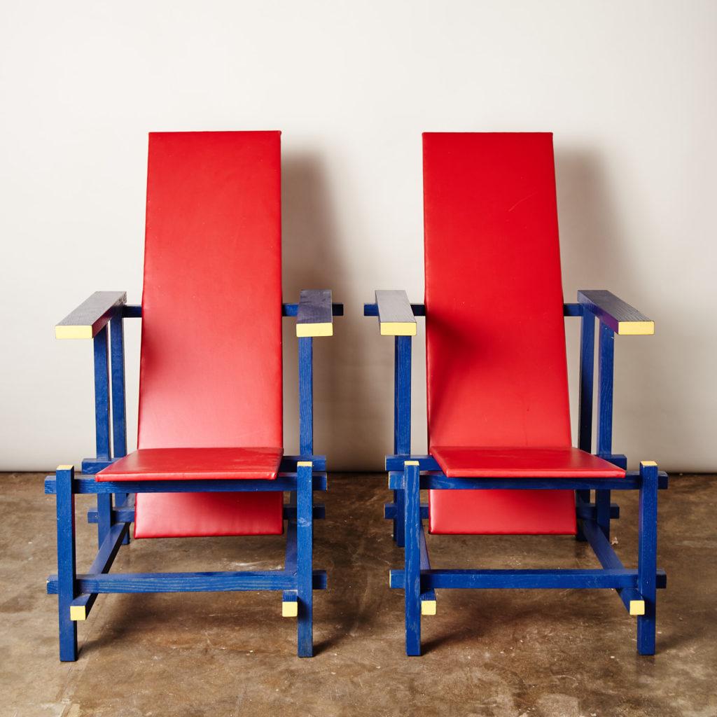Rietveld style armchair,-0