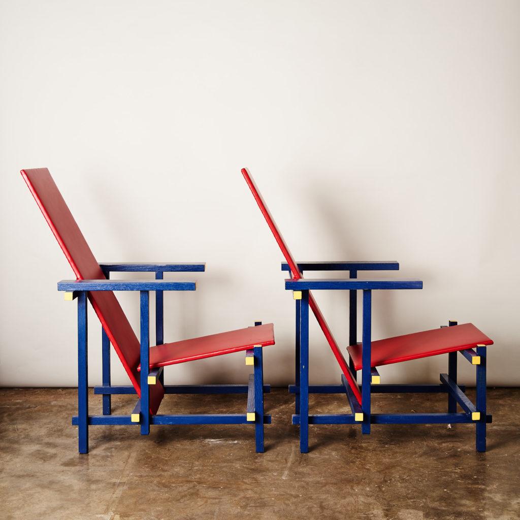 Rietveld style armchair,-134846