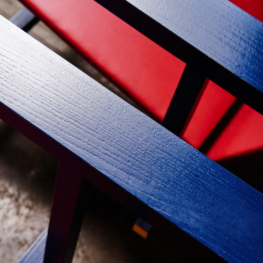 Rietveld style armchair,-134847