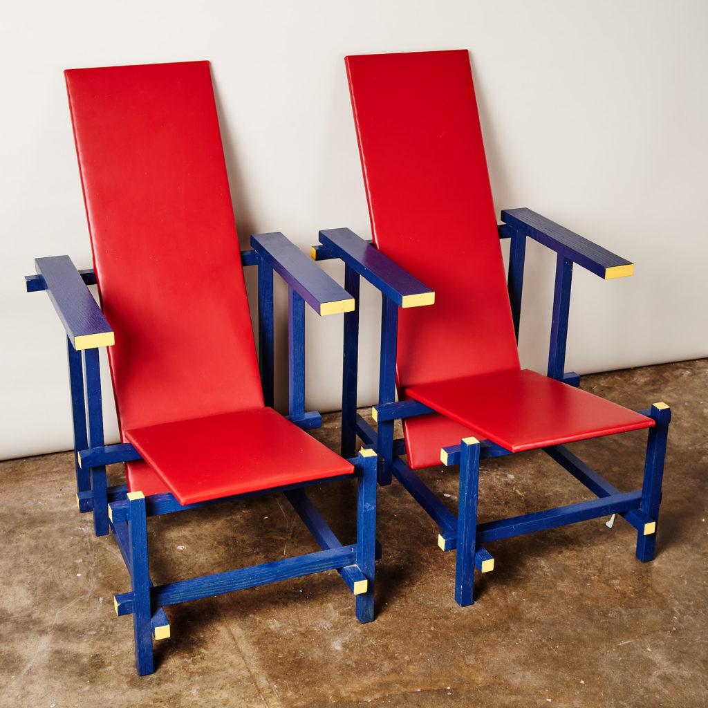 Rietveld style armchair,-134848