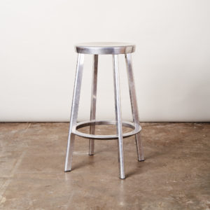 Aluminium bar stool,-0