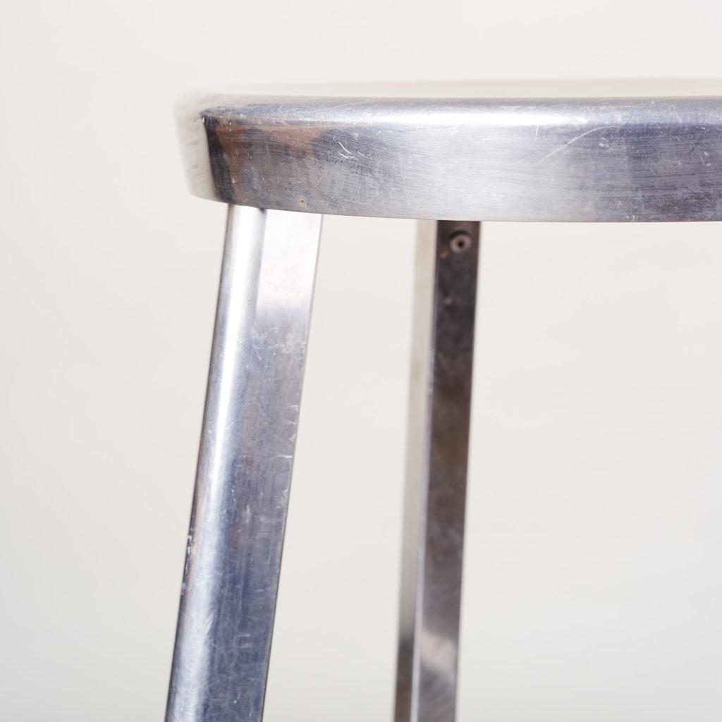 Aluminium bar stool,-134828