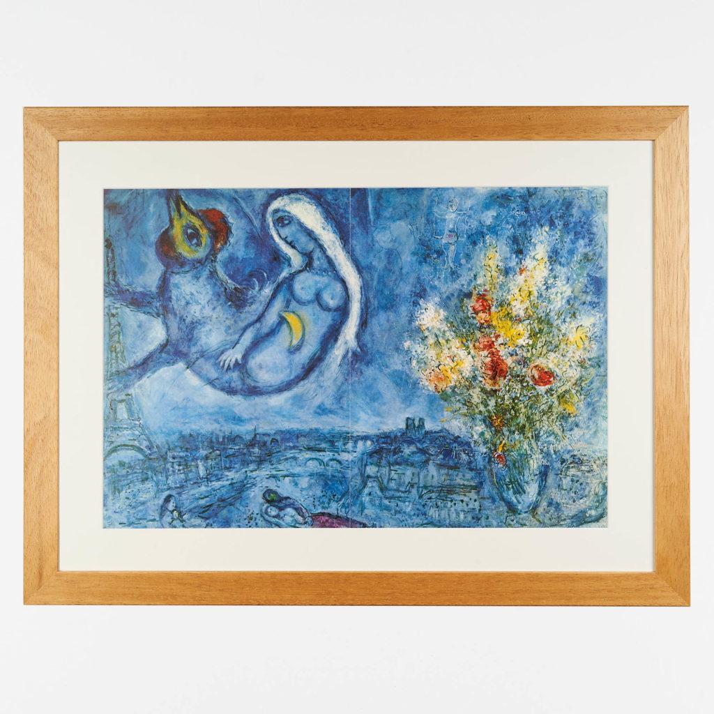 Marc Chagall lithograph,-0