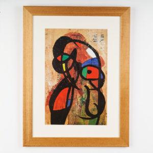 Joan Mirò Lithograph,-0