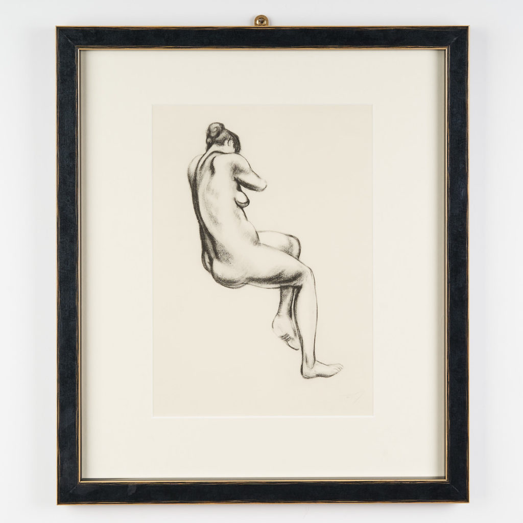 Cahiers D'Art collotype print,-0