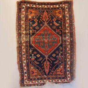 A vintage Persian rug-0