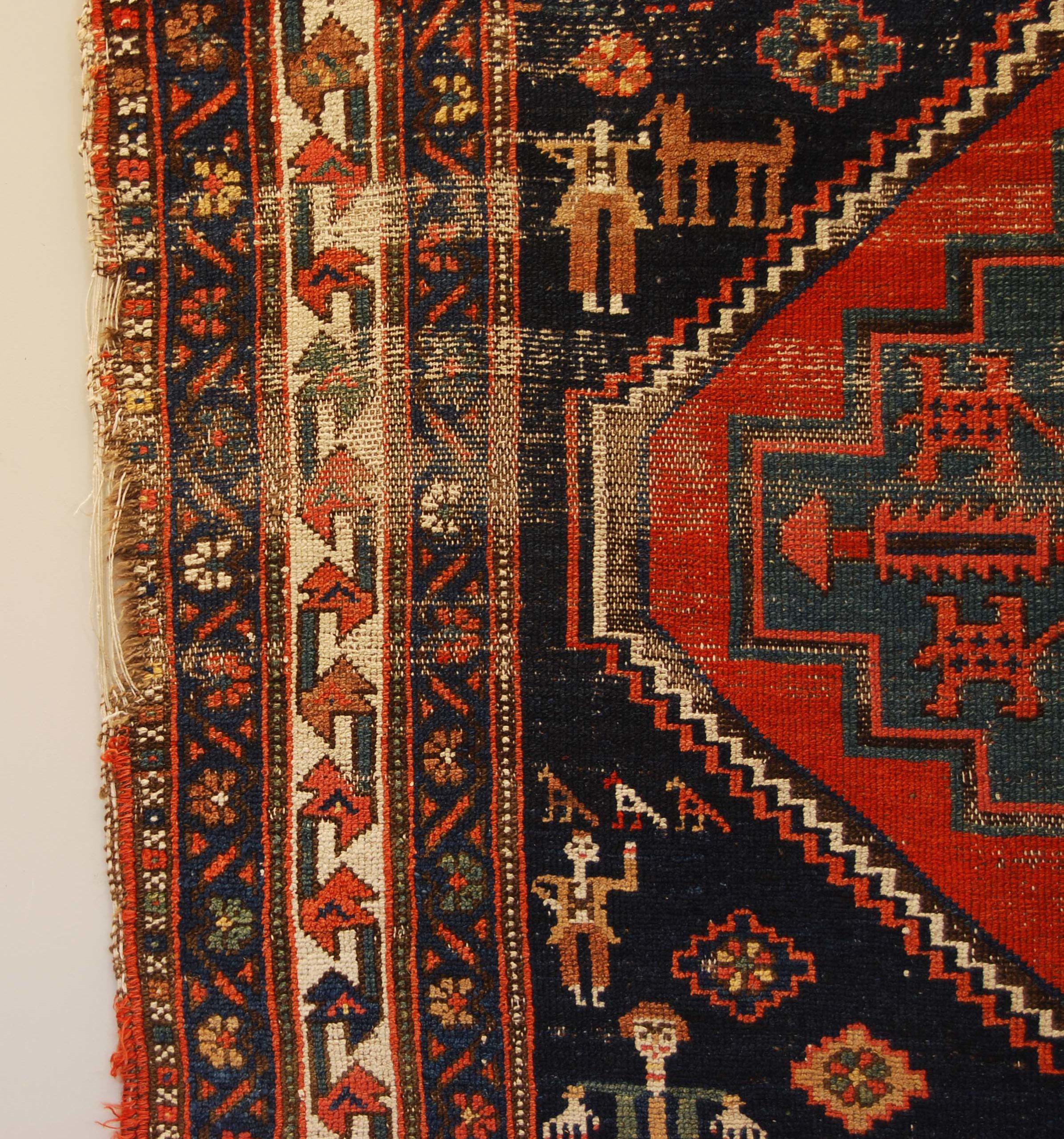 A vintage Persian rug-134511