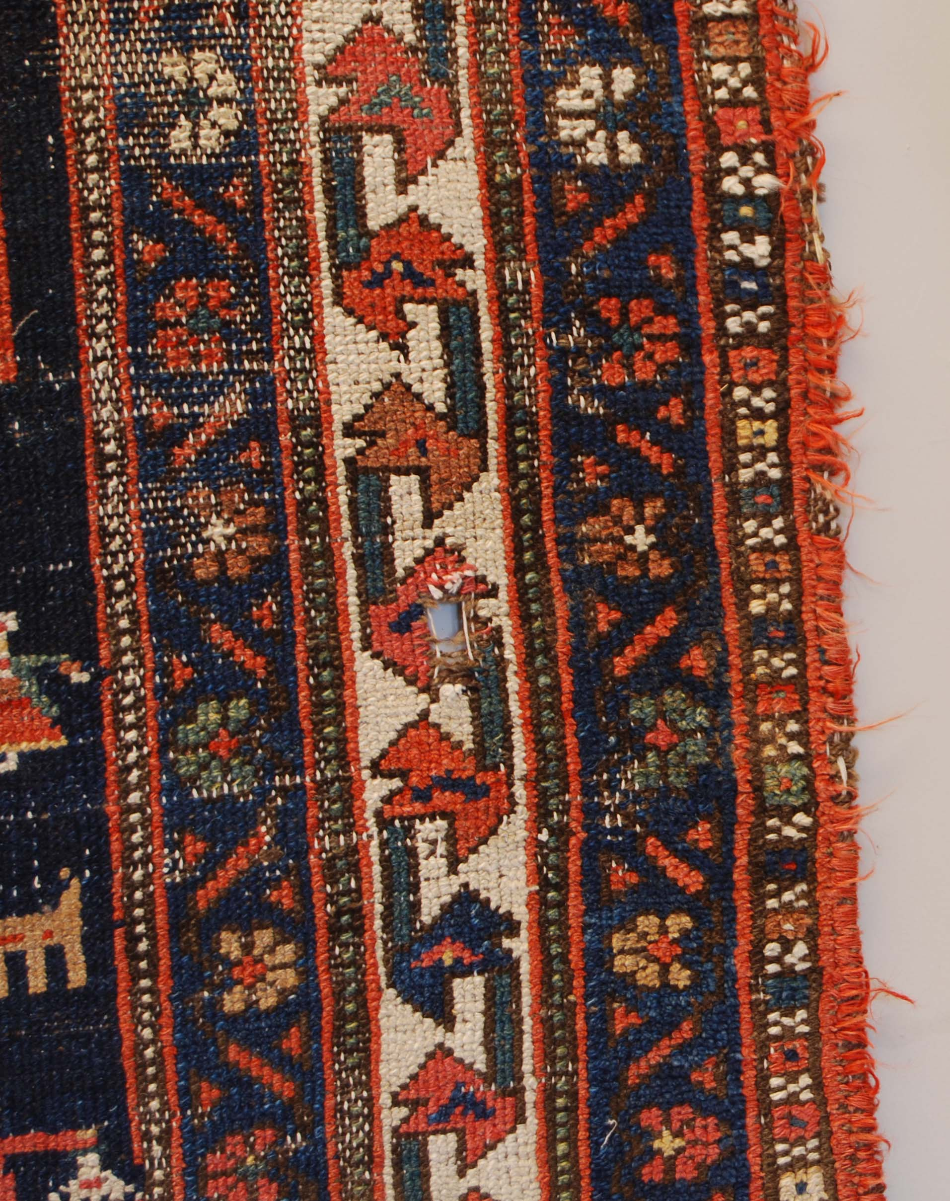 A vintage Persian rug-134512