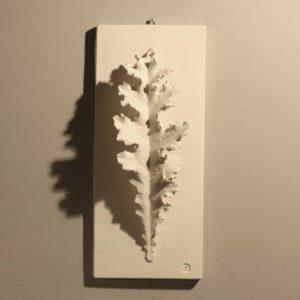 plaster acanthus leaf