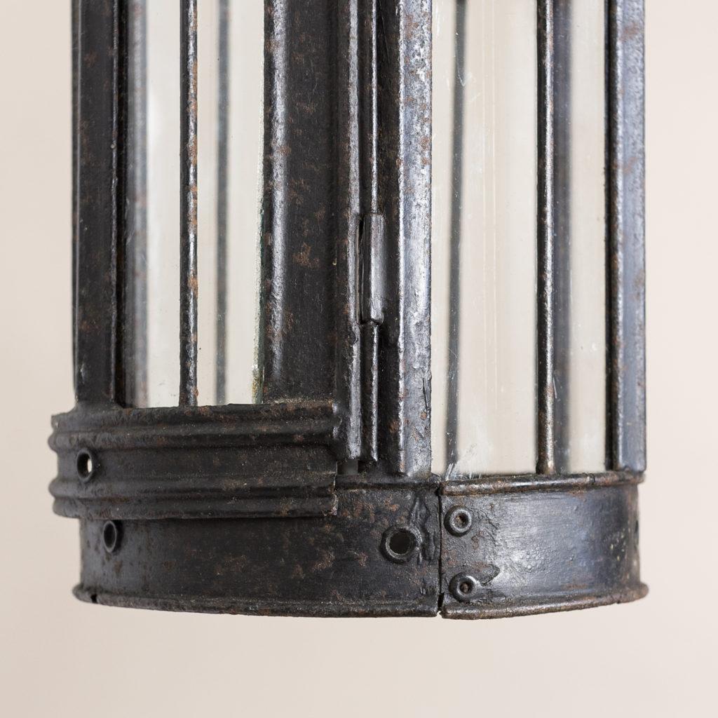 Small nineteenth century toleware lantern,-135062