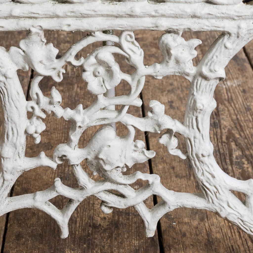 Victorian cast iron garden bench,-134412