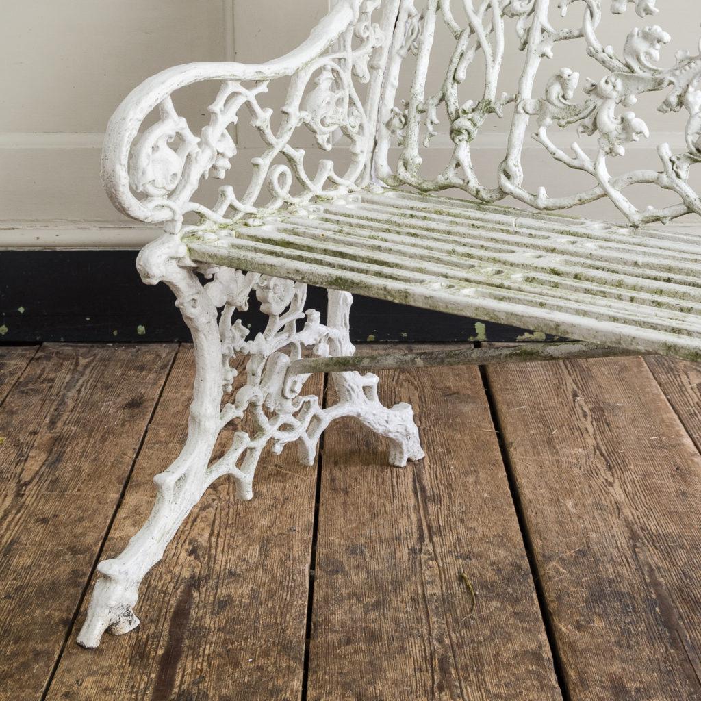 Victorian cast iron garden bench,-134414