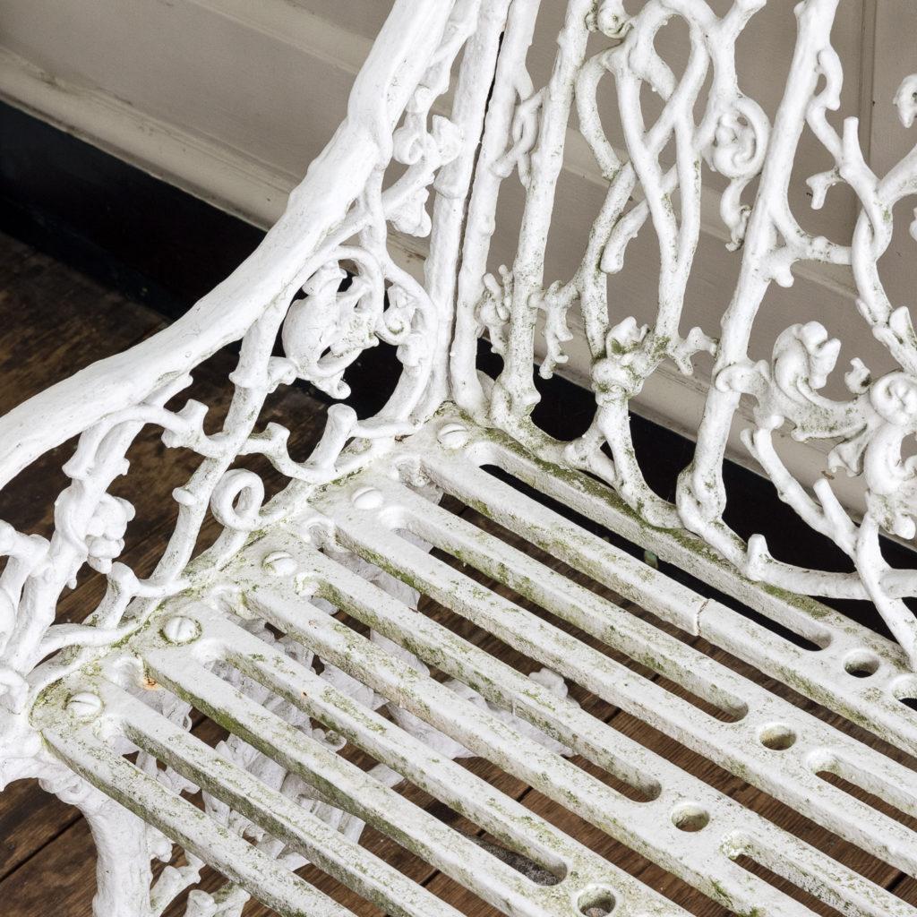 Victorian cast iron garden bench,-134408