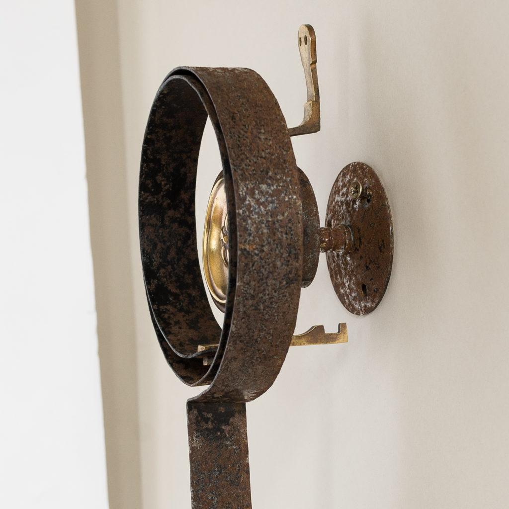 Victorian brass servant's bell,-134789