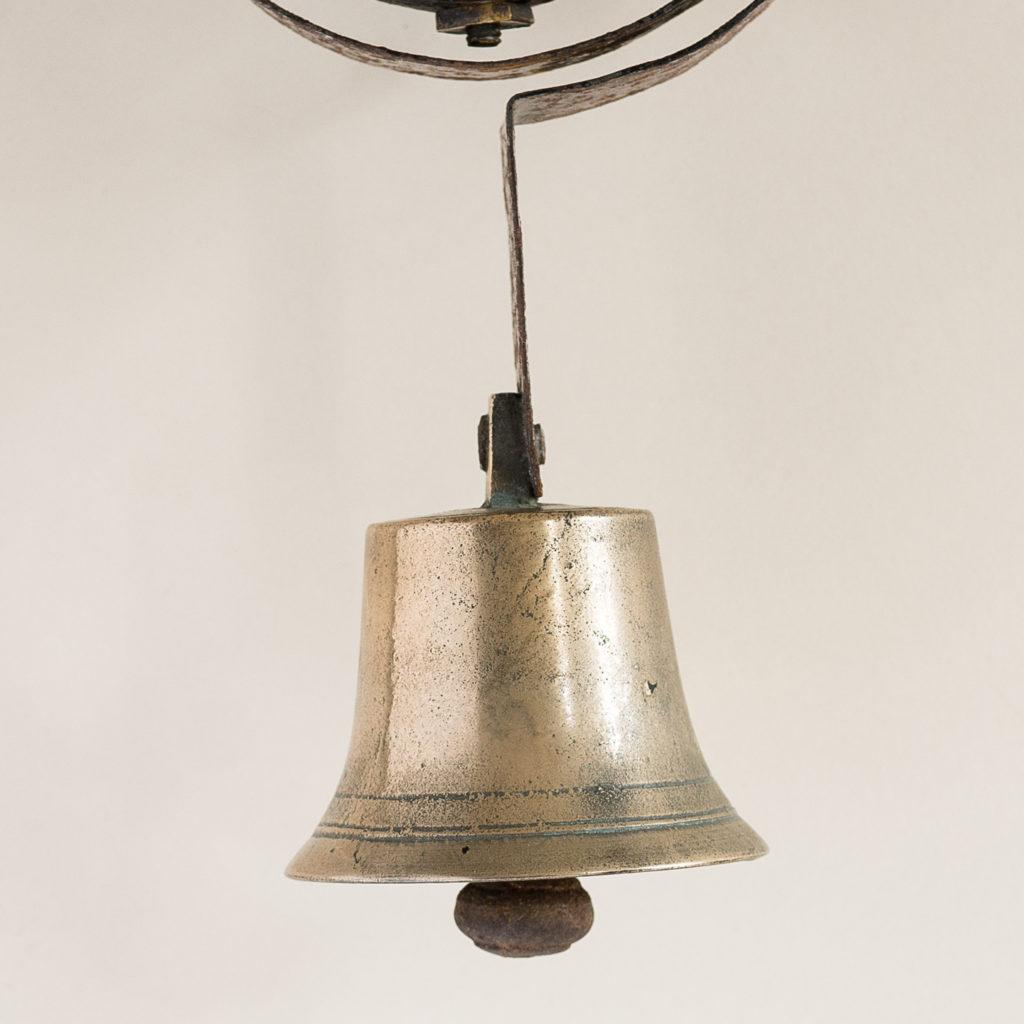 Victorian brass servant's bell,-134791