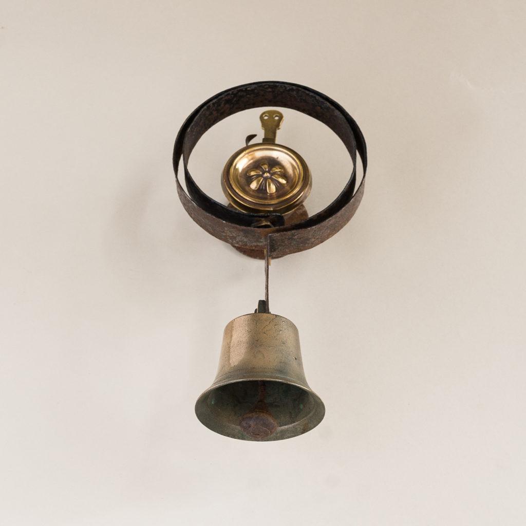 Victorian brass servant's bell,-134792