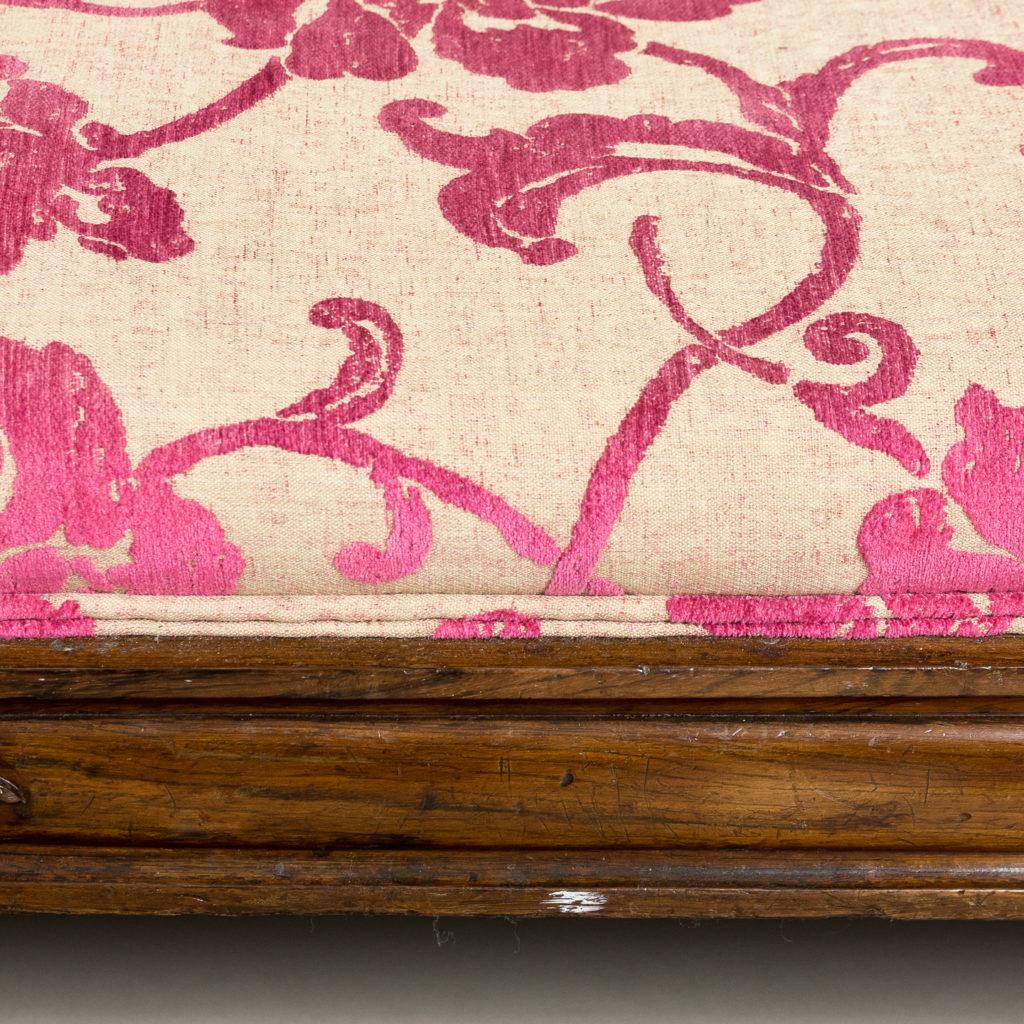 Large nineteenth century rosewood sofa,-135165