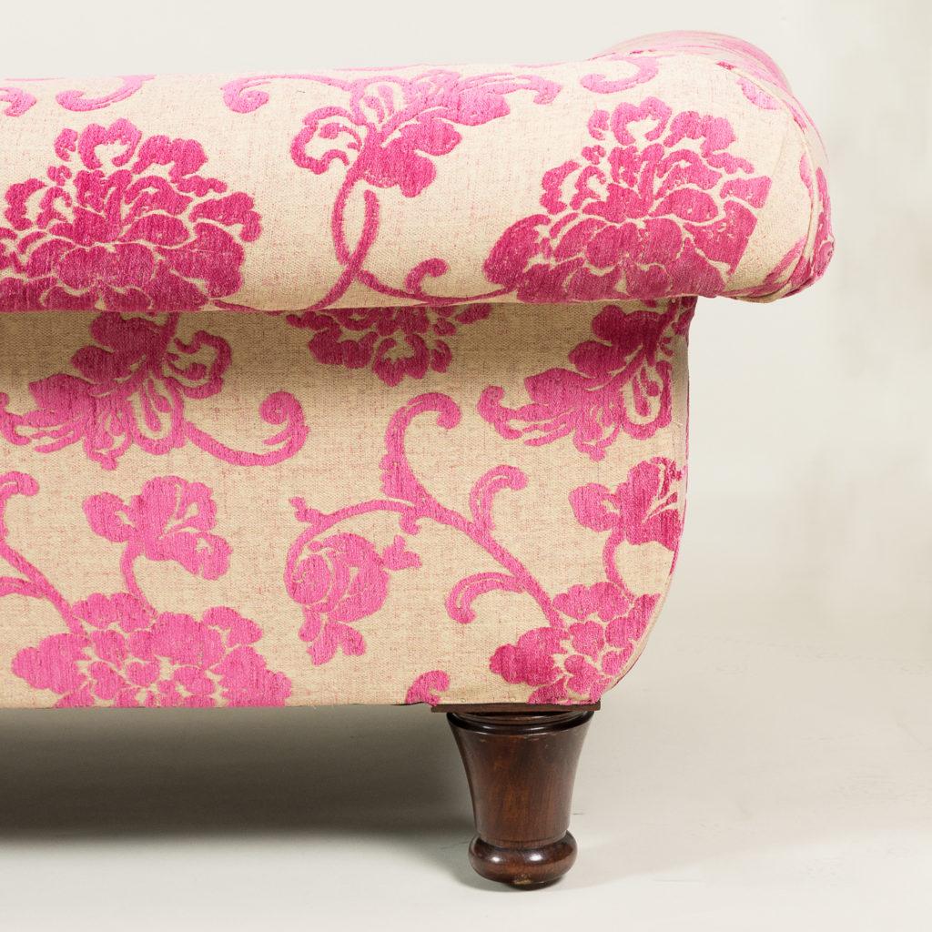 Large nineteenth century rosewood sofa,-135170