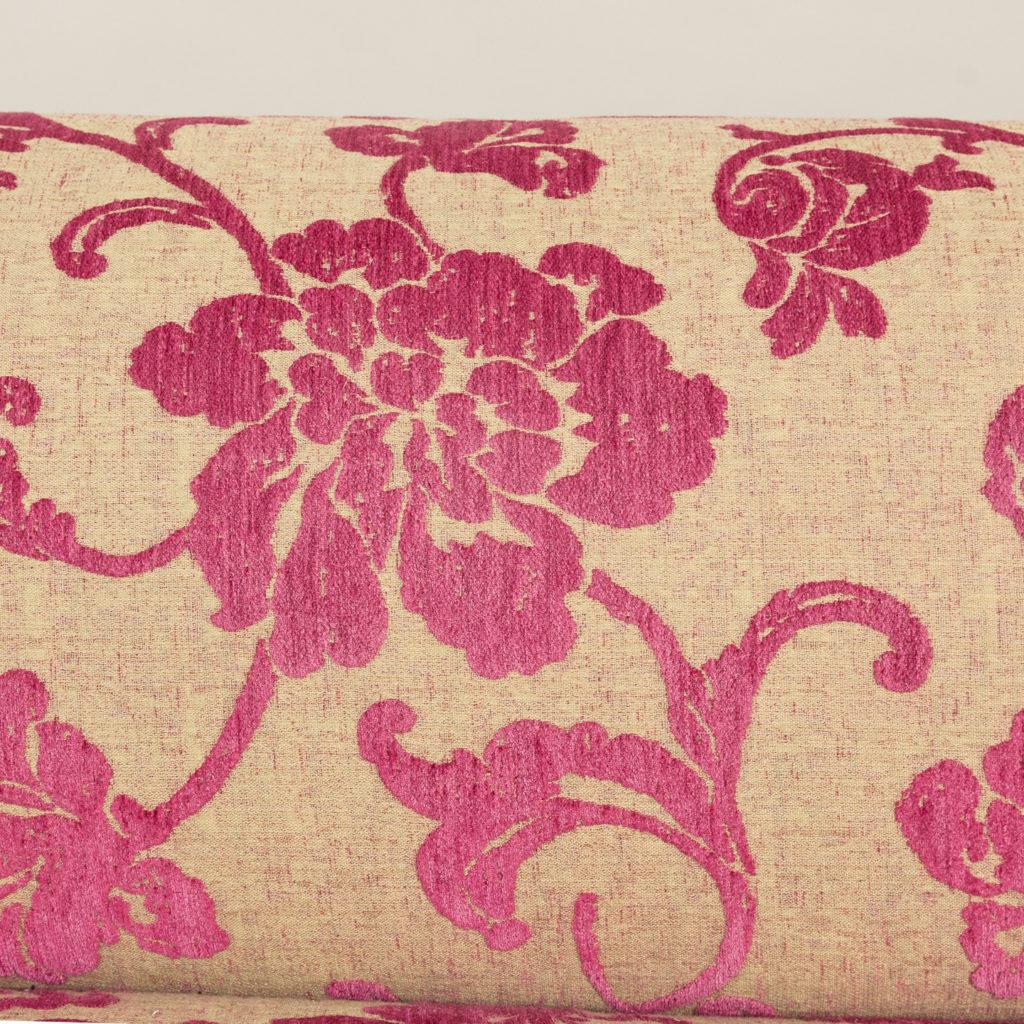 Large nineteenth century rosewood sofa,-135160